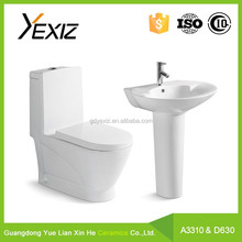 A3310 New product bathroom ceramic toilet and basin product for washing room