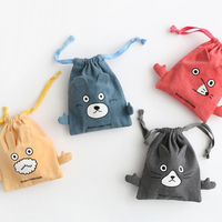 Promotion Fashion Reusable shopping Tote gym cotton draw string bag