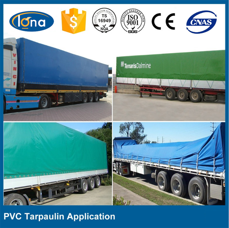 UV WATERPROOF LAMINATED WOVEN FABRIC POLY TARPS PVC TARPAULIN/BACHE,TRUCK COVER,AWNING,TENT