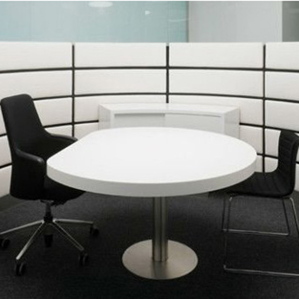 Acrylic solid surface table and chairs, used round banquet tables for sale