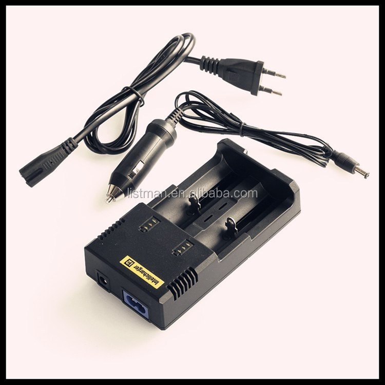 100% authentic nitecore i2 charger li-ion battery charger 3.7v sysmax intellicharger i2 for lg battery charger
