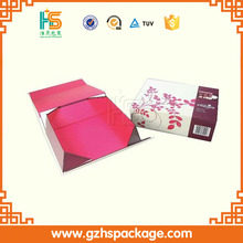 2016 New design packaging gift box / Folding Paper Gift Box/rectangle foldings paper box