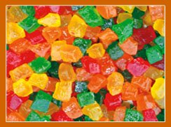 Tutti Fruiti (Candied Fruit Cubes)