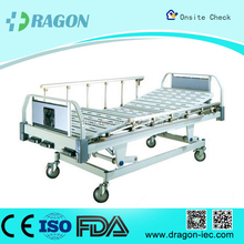DW-BD158 High Quality Manual Medical Care Safety Bed Dimension