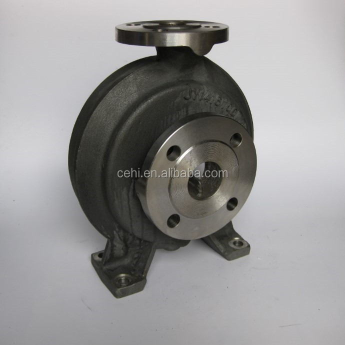 Customized turbo pump housing lost wax casting supplier