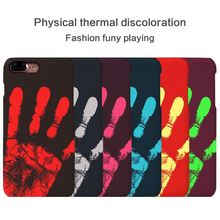 "Temperature Sense Hot Change Color Back Cover For Samsung Galaxy Note 5 N9200 N920A 5.7"" Case Thermal Sensor Heat Sensitive Case"