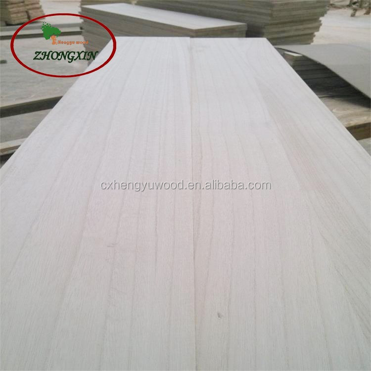 Various thickness Chinese paulownia furniture board