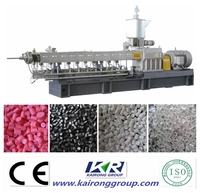 PP/PE+ Caco3 granules application plastic pellet making machine