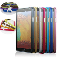 cell phone case metal aluminum bumper case for samsung galaxy note 3