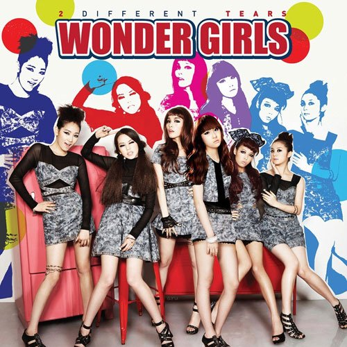 Latest Original Wonder Girls 2 Different Tears Album