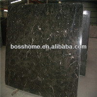 China polished dark emperador marble tiles