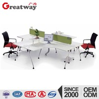 low prices good quality steel structure computer desk