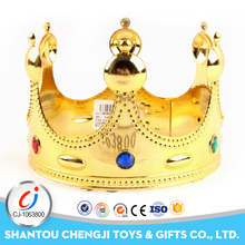 Wholesale girls gift jewelry fashion sweet 2 mixed color king kids crown