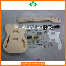 Professional f hole electric guitar kit