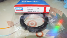 SKF Standard Locknut, Right Hand, Not Self-Locking, Steel, Metri Locknut KM14