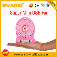 Portable USB Lithium ion batteries standing fan Best Selling Rechargeable Handheld Mini Fan Small cooling Fan Water cooler