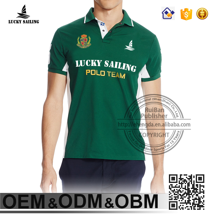 2016 Best-seller Products men short Sleeve Polo T-shirt, football polo shirt