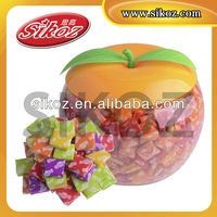 New design fruity flavour candy sugus (apple jar) SK-R027