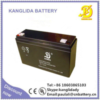6v10ah sealed lead acid rechargeable battery for electric toys
