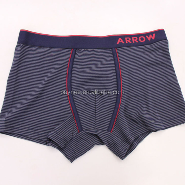 Factory OEM Underwear 5% Spandex + 95% Bamboo Photo Hot Sex Men's Boxer