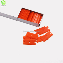 Wholesale Double Edged Plastic Razor Scraper Blades Squeegee for mobile phone glue remover tool