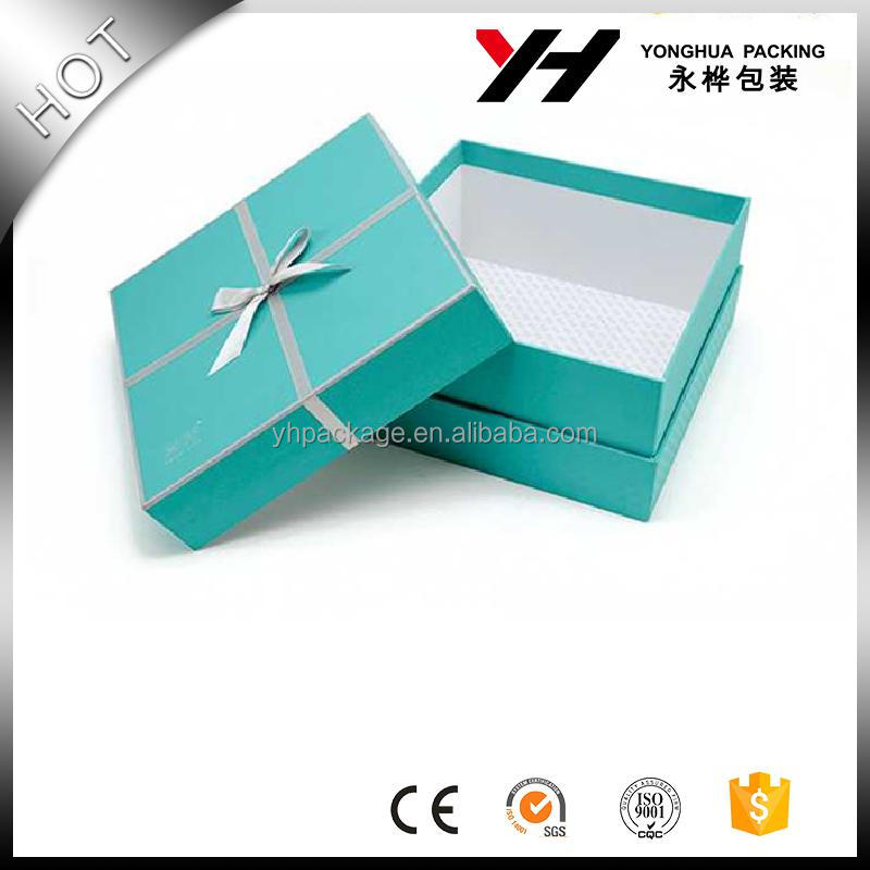 tinya paper box/paper cardboard mini suitcase gift box with ribbon