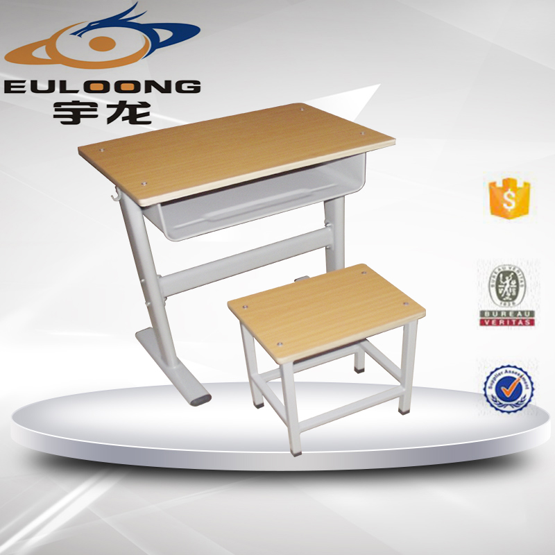 Big lots wholesale school steel desk with wood tabletop