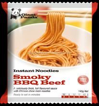 instant noodles smoky BBQ Beef