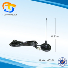 Topradio MC201 VHF/UHF Mobile Antenna Whip 340-520MHz Car Radio for DIAMOND Antenna 31CM