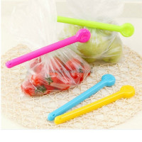 plastic candy color large Bag Clips, Set of 2 bag sealer food bag clips