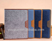 wholesale price wool felt cases for iPad 2 3 4
