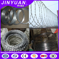 Wholesale alibaba galvanized razor wire,low price concertina razor barbed wire,China razor wire for sale