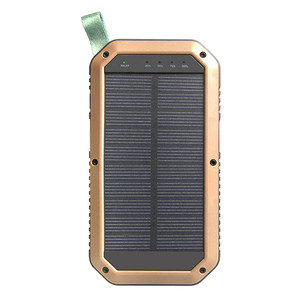 Fast charging solar power bank Factory price charger smart portable solar power bank