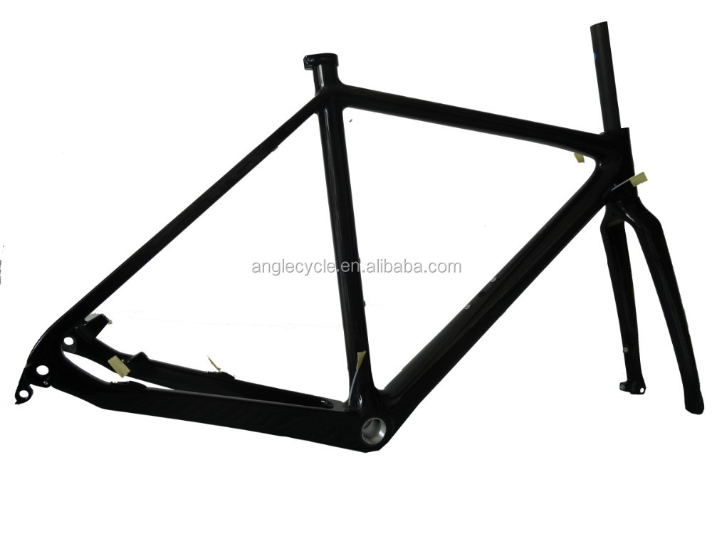 2016 Disc Brakes Cyclocross Bike Frame Carbon, Thru Axle 142*12mm Cyclocross Carbon Frame