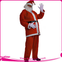father christmas costume adult santa costume size large