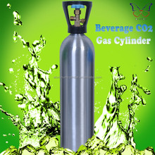 DOT-3AL 2L CO2 Beverage Aluminum Gas Cylinders