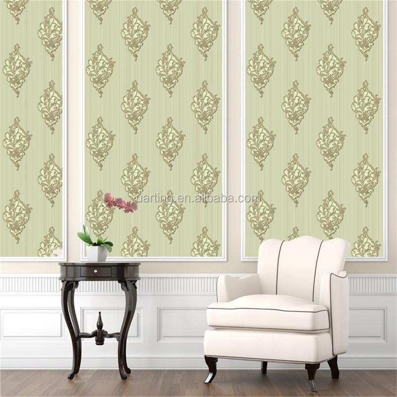 wallpaper manufacturer produce new decoration pvc wallpaper