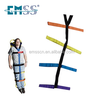 Multi Coloured Spider Strap For Spine Board