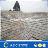 Yellow slate roofing tile