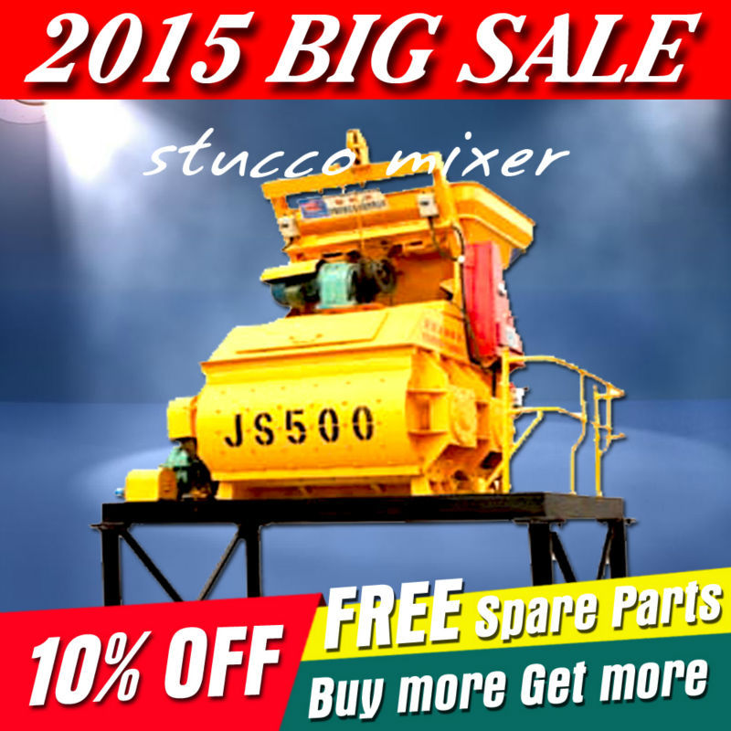 2015 newest HUAXIN stucco mixer