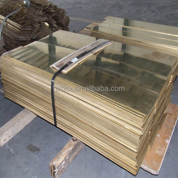 polished CuZn30 brass sheet price