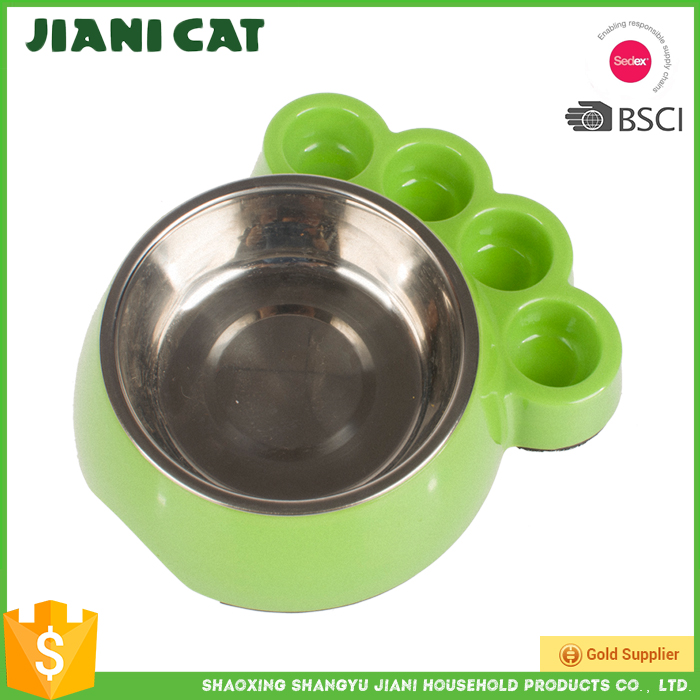 2017 Hot Sale stainless steel dog pet food or water bowl dish