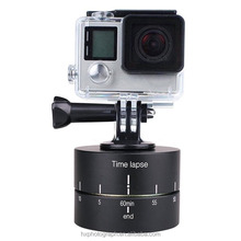 360 Degrees 60min Panning Rotating Time Lapse Stabilizer Tripod for GoPros/ Xiaoyi Cameras