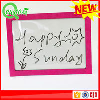 soft fridge magnetic notepad magnetic hang board writing board