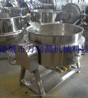 Industry jacket kettle for candy
