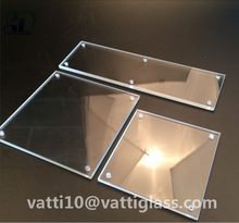 Competitive Price Polishing Corner Clear Pyrex Glass Substrate
