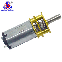 Mini gear box 9v dc motor for toy car with latest design and technology
