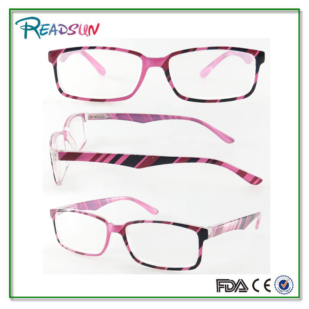 New stripe pattern sports young reader with package Reading Glasses