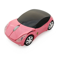 Hot sale 2.4G Wireless 3D Optical Car Mouse USB Receiver Mause game car mouse