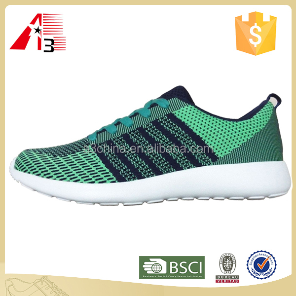 2017 new arrive european style man sport shoes running